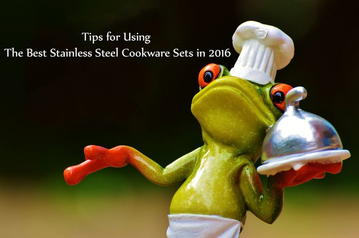 Using the stainless steel cookware set, you need to know some cooking tips & tricks as it's a different process cooking from nonstick cookware.