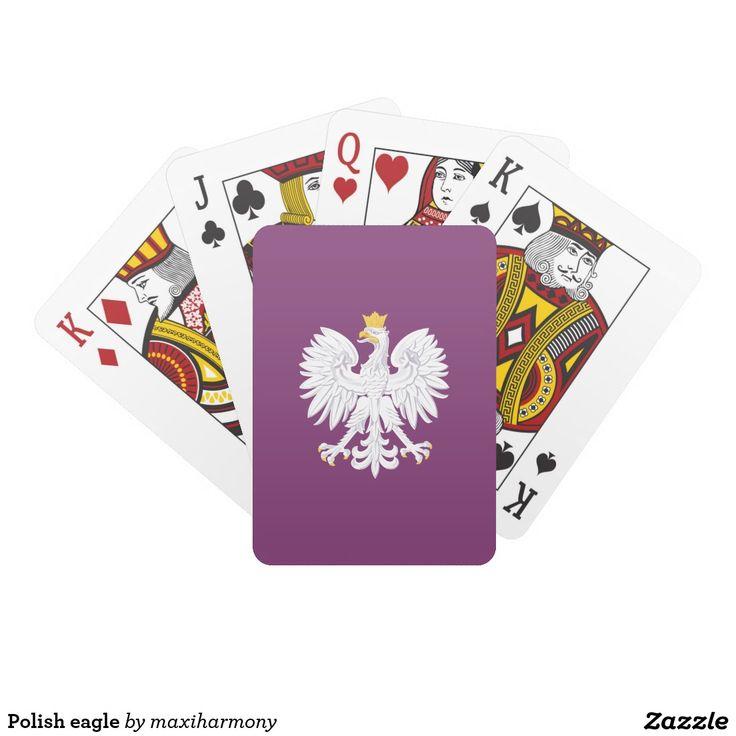 Polish eagle card deck