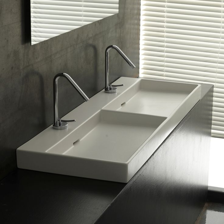Ws Bath Collections Urban 120 Wall Mounted Vessel Bathroom Sink 47 2 From The Collection