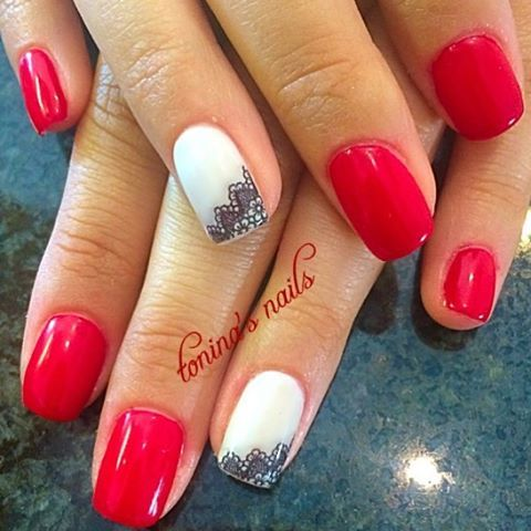 #nail#nails#nailart#nailbling#nailpolish#nailcreation#art#polish#mani#manicure#shellac#shellaccreation#gel#gelnails#frenchnails#frenchmanicure#fashion#toninasnails#girl#glitter#naildesign#nailstagram#nailsoftheday#nailswag#heartnails#easternails