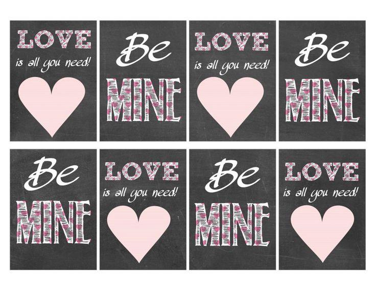 Valentine Card Kids Classroom Valentines Day Printable