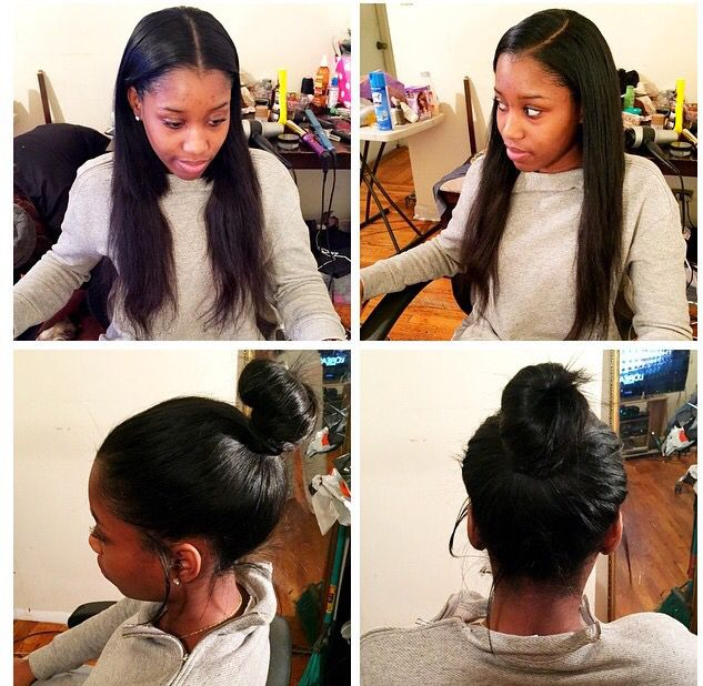 Versatile Sew-In #sewin #versatile #weave #partial