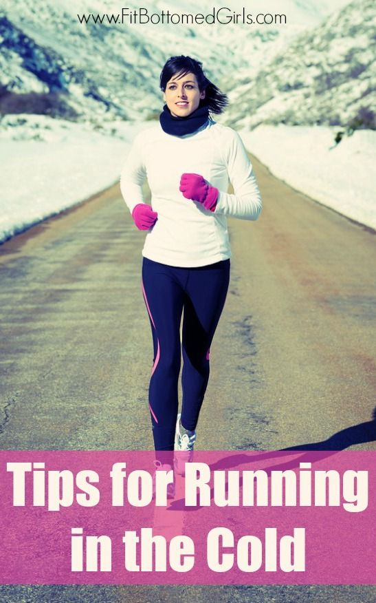 Running in the cold can be enjoyable -- you just have to follow these tips!