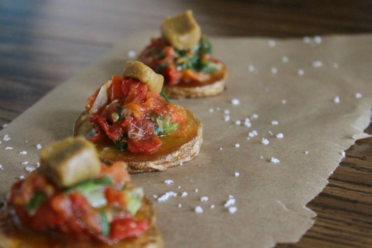 bean stuffed fried jalapenos with salsa roja 18 vegan snacks to ...