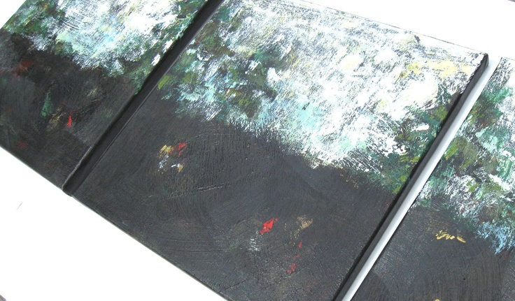 Abstract Paintings. 	Found here:	http://www.etsy.com/treasury/OTg5MzY4OHwyNzIwNjc5Mjc1/rising-moon	or	http://www.etsy.com/listing/102670143/3-abstract-landscape-paintings-triptych?ref=tre-2720679275-6	#681team