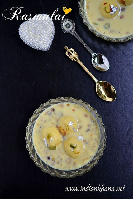 Delicate, sorf and easy #homemade Rasmalai is perfect for any #festival celebration.  Try for upcoming #Diwali.