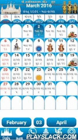 Nirnay & Calendar 2016 - 17  Android App - playslack.com ,  A simple Gujarati (Hindu) calendar with the traditional print copy look and feel but with the added benefit of user interaction to find more details about a specific date. The calendar will help you to find when the next Ekadashi is, what the Paksha (Sud,Vad) on a particular day is, when the next Poonam is (Full Moon) or the next Amavasya is and many more Hindu events in easy visual representations; due to images being used to…