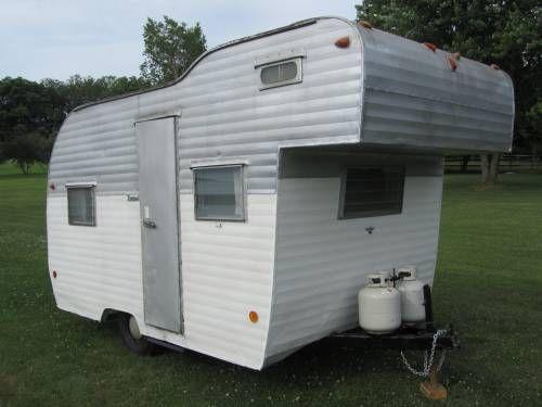 1963 nomad vintage camper 1950 cab over trailers pinterest vintage campers and vintage. Black Bedroom Furniture Sets. Home Design Ideas