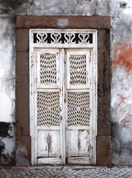 """""""Tavira Door"""". Tavira is an old Roman town in Portugal's Algarve region, situated close to the border with Spain. 