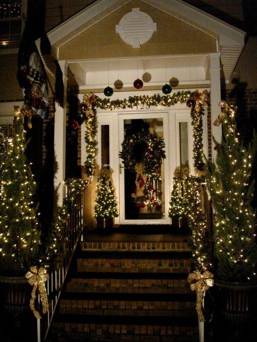 elegant outdoor christmas decorating ideas