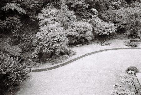 Garden path, International House of Japan, Roppongi, Tokyo,June 28, 2016