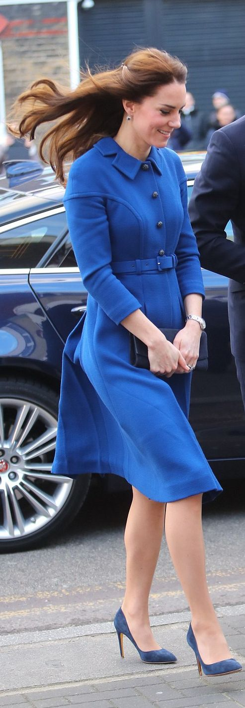 Kate Middleton wore a coatdress by Eponine London http://whatkatewore.com/2017/01/11/its-a-new-eponine-london-dress-for-kates-london-engagements/