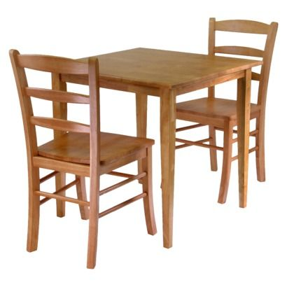 Groveland Dining Table with Chairs - Set of 2  (table is 29 inchesx 29 inches