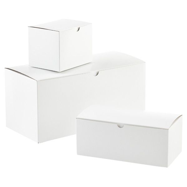 Gold Favor Boxes 4x4x4 : Best white gift boxes ideas on red
