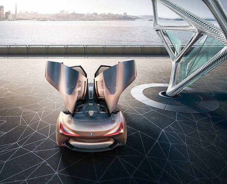 BMW plans for the future through vision next 100 variable autonomy concept