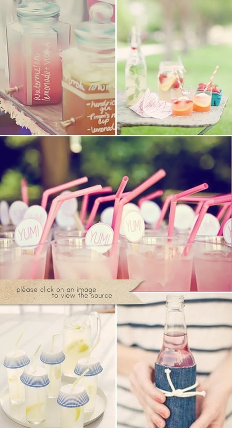 Drinks. Drinks. Drinks. favorite-places-spacesSummer Drinks, Parties Drinks, Pink Drinks, Cute Ideas, Summer Parties, Company Picnic, Bridal Shower, Jamba Juice, Pink Lemonade