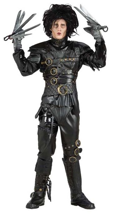 Grand Heritage Edward Scissorhands Costume - Adult Costumes