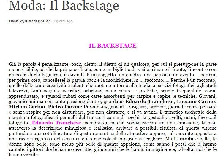 Flash Style Magazine parla di Patrizia Corvaglia Gioielli al Salon of Excellence https://flashstylemagazine.wordpress.com/2016/06/20/moda-il-backstage/