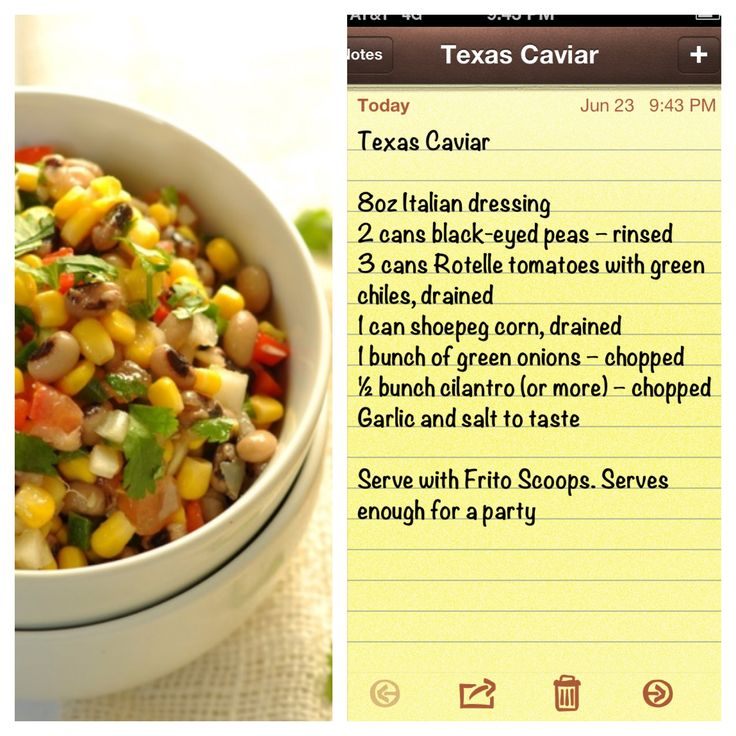 Party dips, Texas and Texas caviar on Pinterest