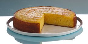 Flourless Blood Orange Syrup Cake