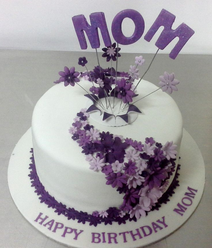 Images Of B Day Cake For Mom : 17 best images about Cakes for MOM & DAD on Pinterest ...