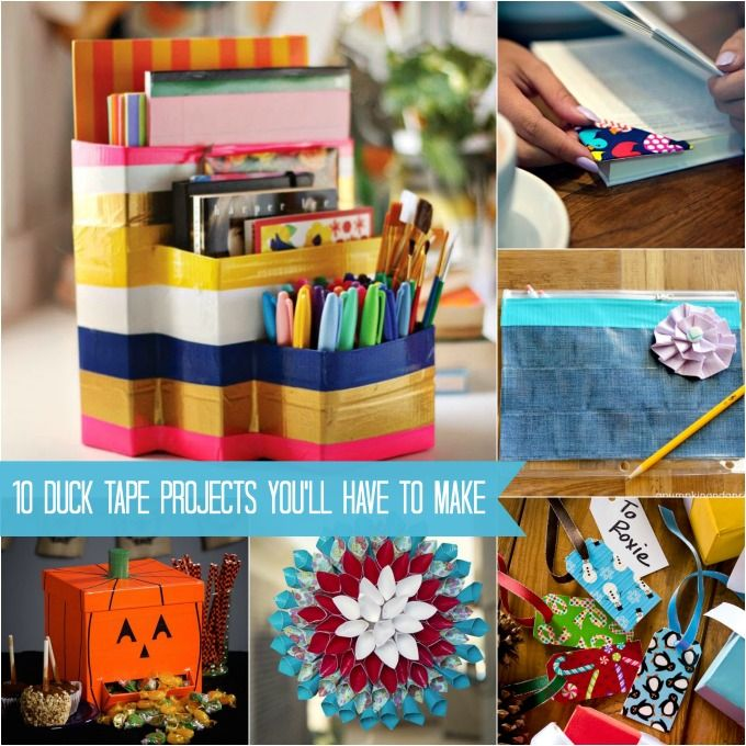 390 best crafts i need to do images on pinterest alpha for Duck tape craft ideas