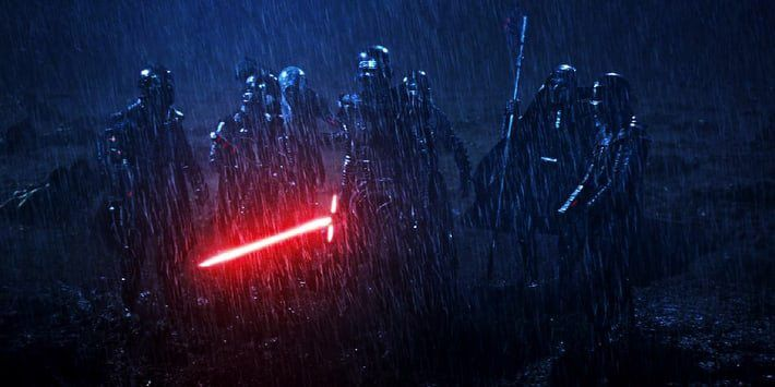 Los Caballeros de Ren son los grandes olvidados de 'Star Wars: Los Últimos Jedi (Star Wars 8)' después de haber aparecido en el Episodio VII. ¿Qué va a pasar con ellos ahora en 'Star Wars 9'? ¿Los veremos finalmente?