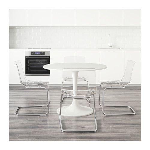 23 melhores imagens de ideias casa no pinterest ideias - Mesa transparente ikea ...