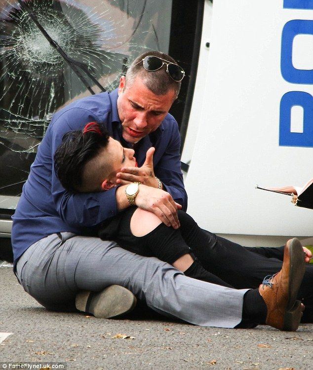SPOILER ALERT: Hollyoaks' Trevor attempts to save son after car crash