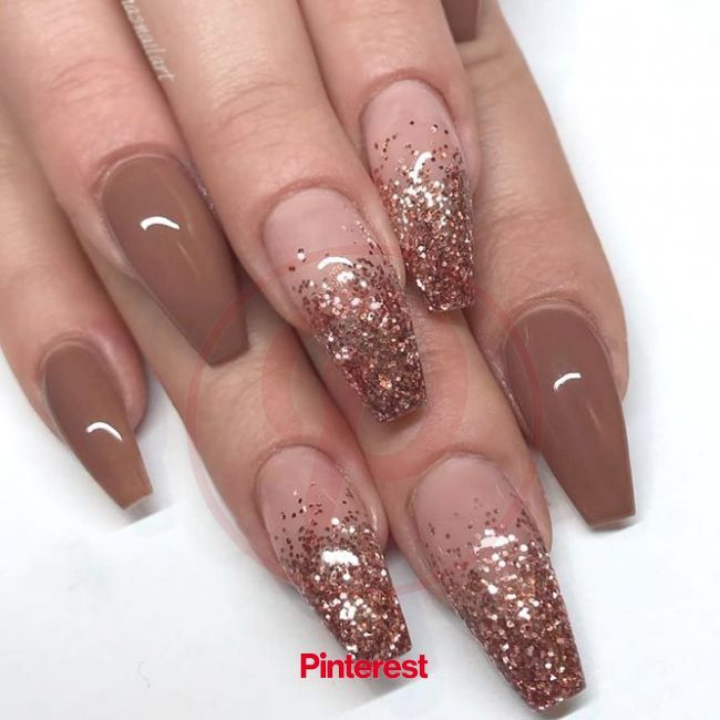 How To Do Gel Nails At Home The Fullest Guide Fall Acrylic Nails Ombre Nail Designs Autumn Nails Nails In 2020 Ombre Nail Designs Long Nail Designs Nail Designs