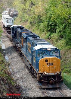 RailPictures.Net Photo: CSXT 4794 CSX Transportation (CSXT) EMD SD70MAC at Linden, Virginia by David B Davies