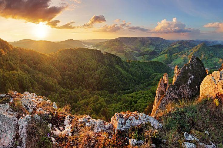 Súľovské skaly patria medzi najkrajšie prírodné scenérie na Slovensku. Aj preto sú zaradené medzi ciele 2. ročníka výzvy 7 kopcov, 3 jazerá 2017.