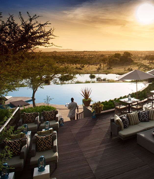 Safari Lodge The Four Seasons, Serengeti, Tanzania |