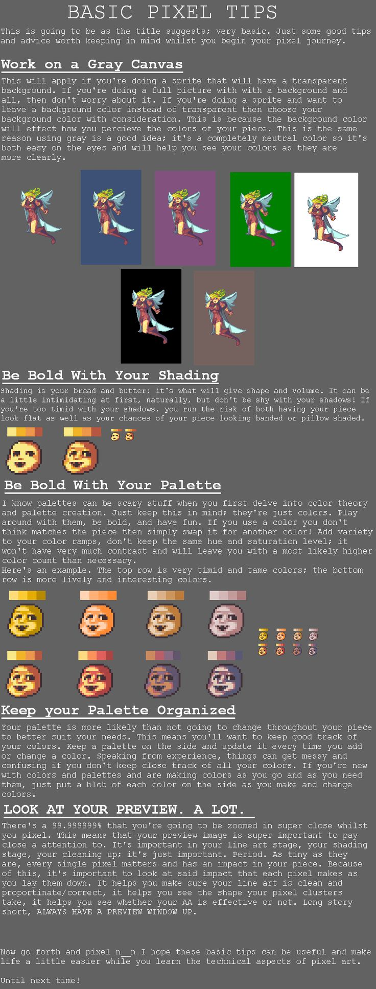 Pixel Basics By Rhlpixelsiantart On @deviantart