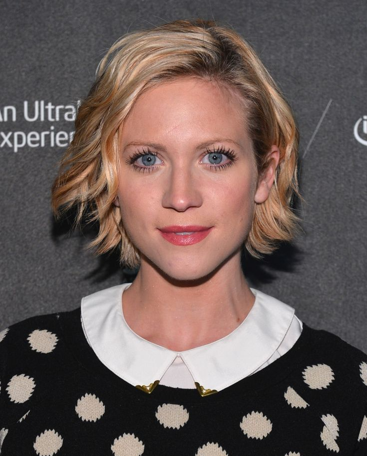 Brittany Snow Hair. Cute grow out phase