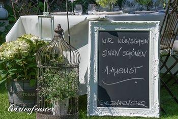 Inspirationen aus dem Gartenfenster