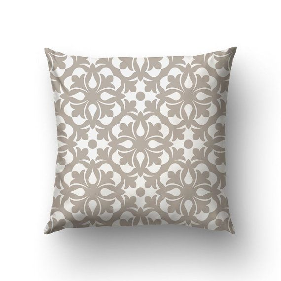 Victorian Decor Pillow Cover Housewarming Gift by Macrografiks