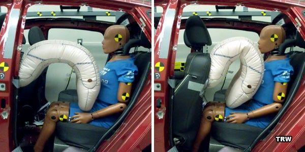 Подушки безопасности для заднего сидения