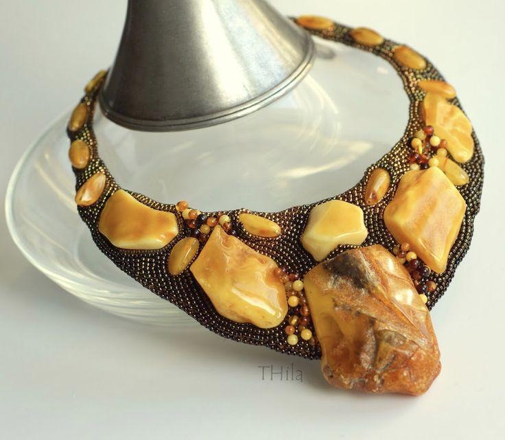 Naszyjnik z bursztynami (Amber  necklace)                                                                                                                                                      More