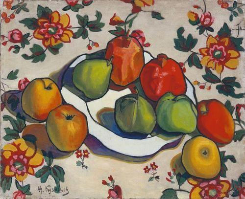 Nikolai Efimovich Kuznetsov (1879–1970) Russian-Soviet painter and theatre designer