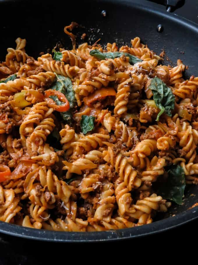 Easy Spicy Ground Beef Pasta A Spicy Version Of Your Regular Beef