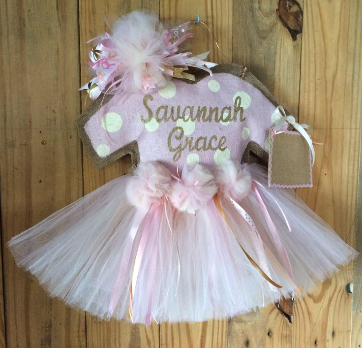 125 best baby stuff images on pinterest hospital door for Baby girl hospital door decoration