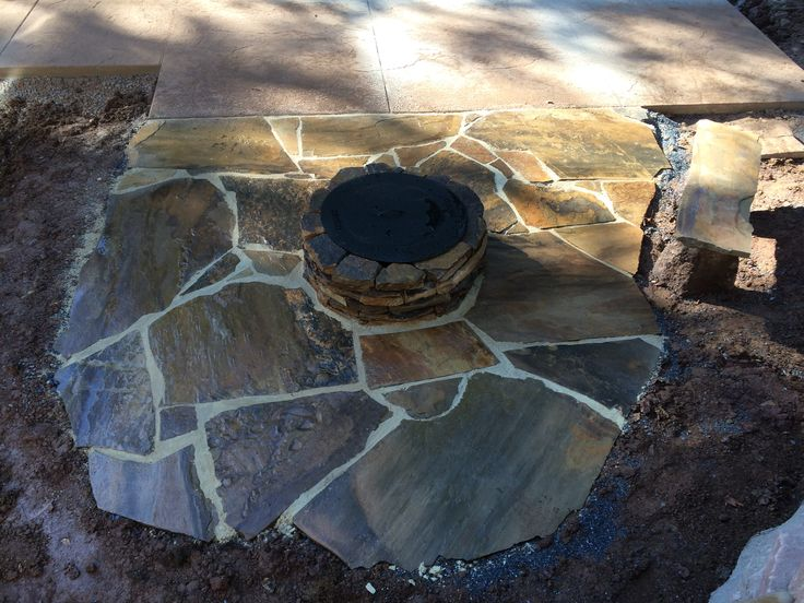 Fit Pit & Natural Stone Patio Complete...