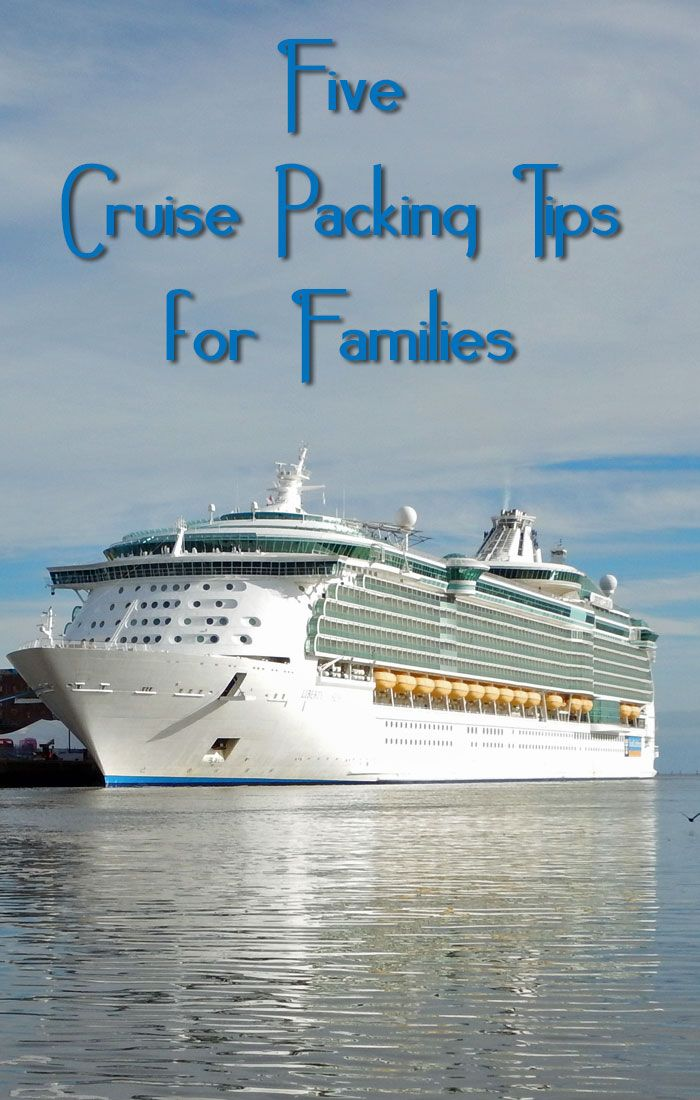 Pack yourself and your kids for cruising success with these helpful cruise packing tips for families from a frequent cruise traveler and a mom.