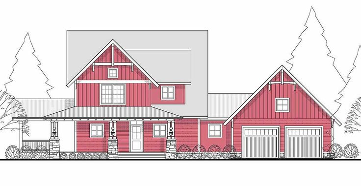 Master Down 3 Bed Farmhouse Plan - 28700KC | 1st Floor Master Suite, CAD Available, Country, Farmhouse, PDF, Traditional, Wrap Around Porch | Architectural Designs