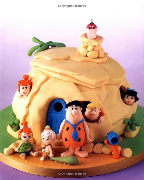 Flintstones Cake. How cute.