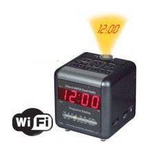 Une radio réveil projecteur qui cache une caméra IP wifi avec visualisation en direct à distance sur smartphone, PC, Tablette. Un véritable outil de surveillance indécelable.