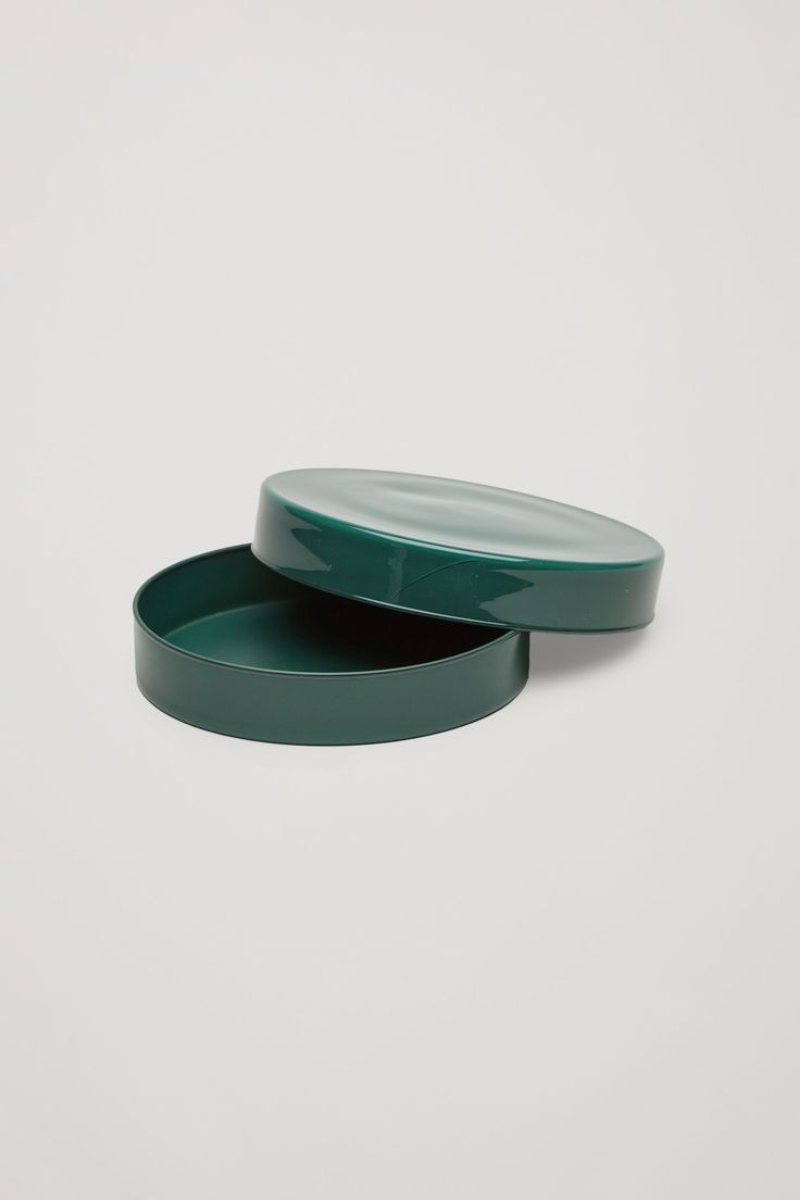 COS image 2 of HAY Bits & Bobs x-large glass box in Forest Green