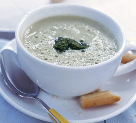 Frothy cannellini soup | Recipe