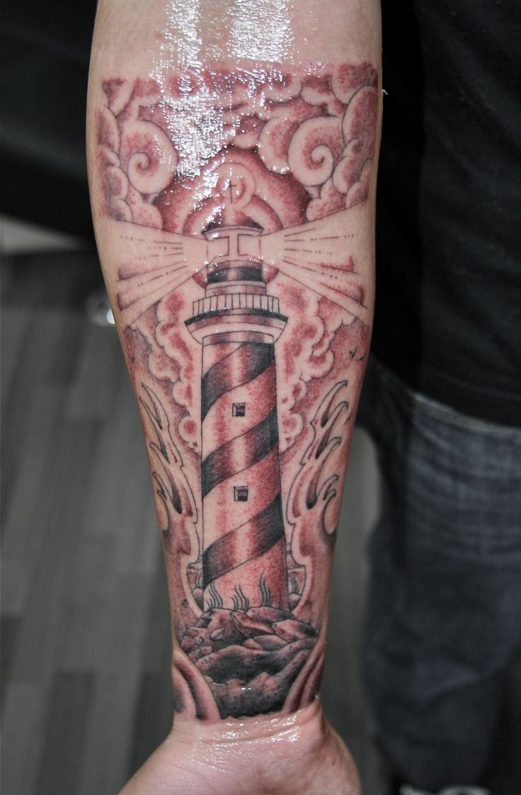 Lighthouse Tattoo Meaning | Lighthouse Tattoos Designs, Ideas and Meaning